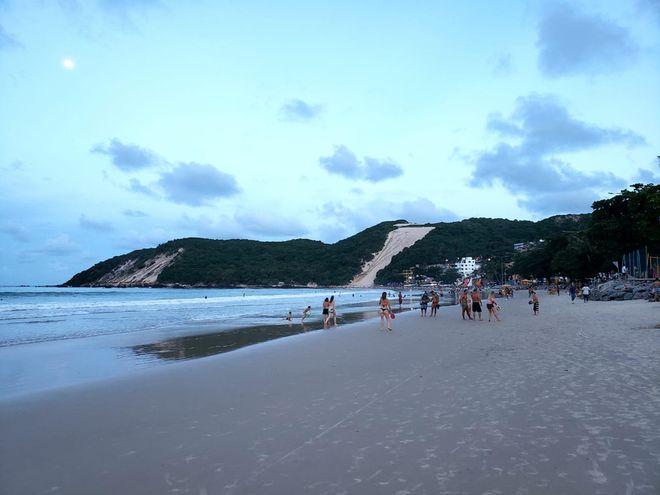 Playa de Ponta Negra en Natal / Grupo Globo.