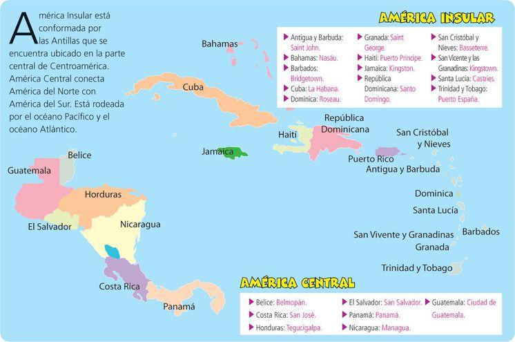 América Central e Insular - Escolar - ABC Color