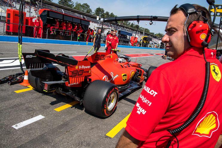 Ferrari fue el más rápido en la primera sesión de libres.