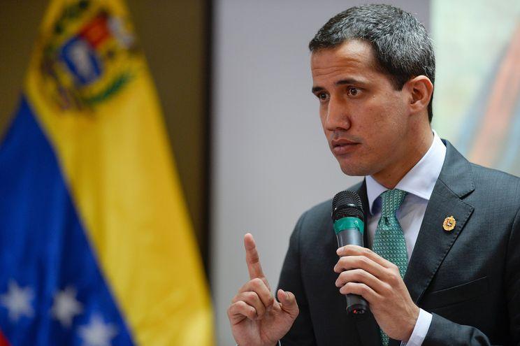 Juan Guaidó, titular del Parlamento venezolano.