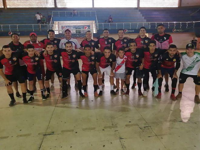 Foto selección villetana de fútbol de salón 2020.