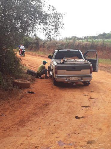 La camioneta transportaba unos 145 kilos de marihuana.