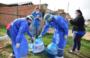OIM asistió a venezolanos residentes en nuestro país.