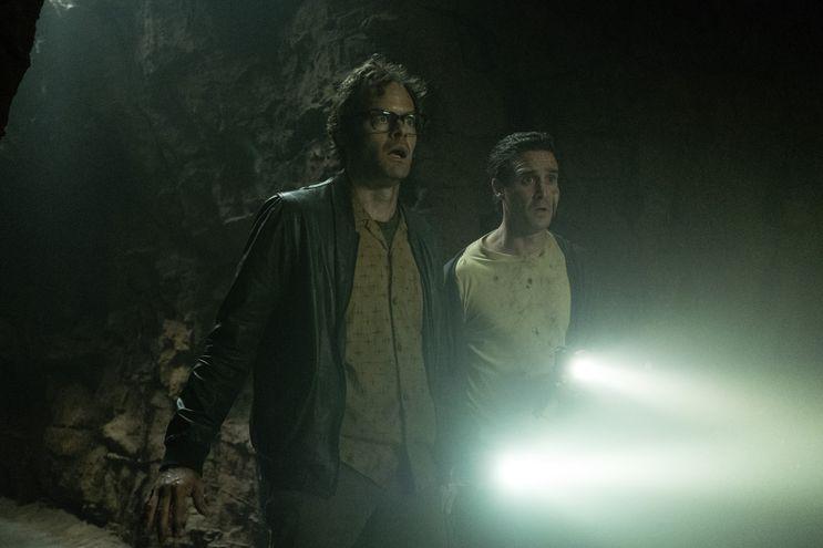 """Bill Hader y James Ransone en """"It: Capítulo 2""""."""