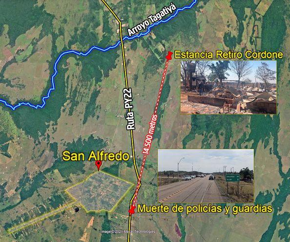 El nuevo ataque de la ACA-EP sucedió a solo 14 kilómetros de donde murieron dos policías y un guardia.