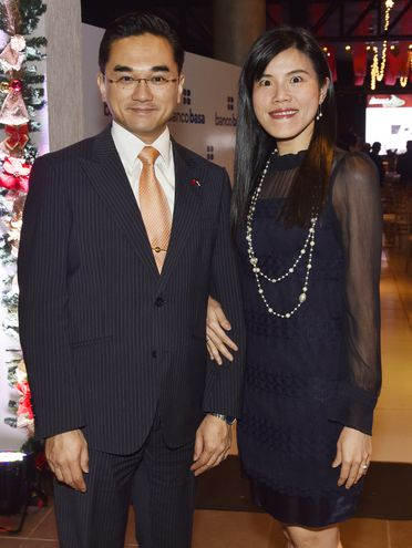 Daniel Chen y Avelina Liu.