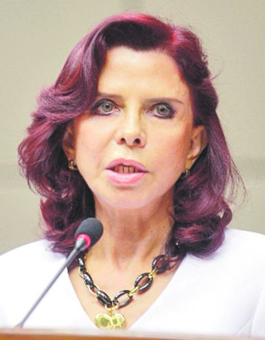 Miryam Josefina Peña Candia, quien próximamente se jubilará en la Corte.