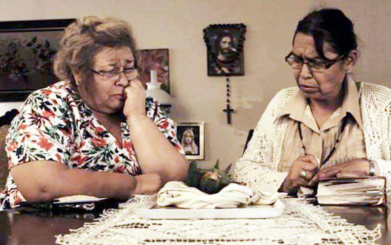 """Amada Gómez y Katty Pacuá protagonizan el cortometraje """"Y al tercer día"""", que cosechó premios en varios festivales."""