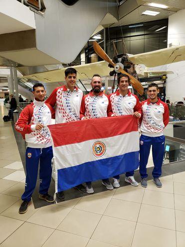 Selección nacional de remo viajó a Lima