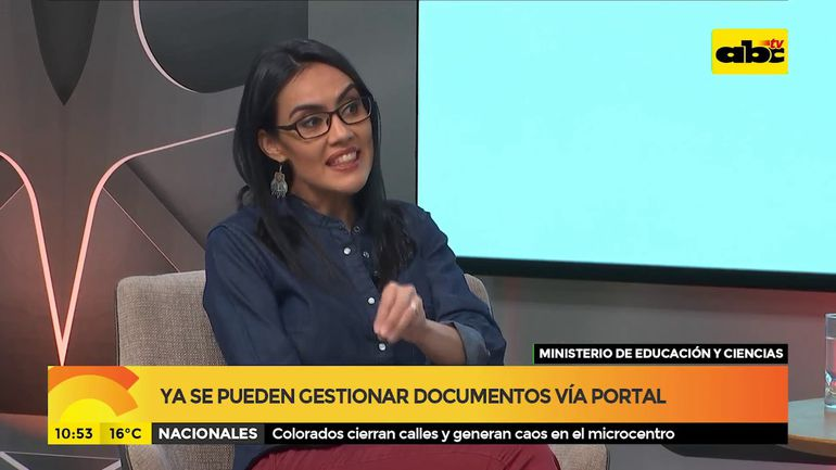 Ya se pueden gestionar documentos vía portal del MEC