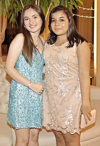 Fiorella Luraghi y Samira Monges.