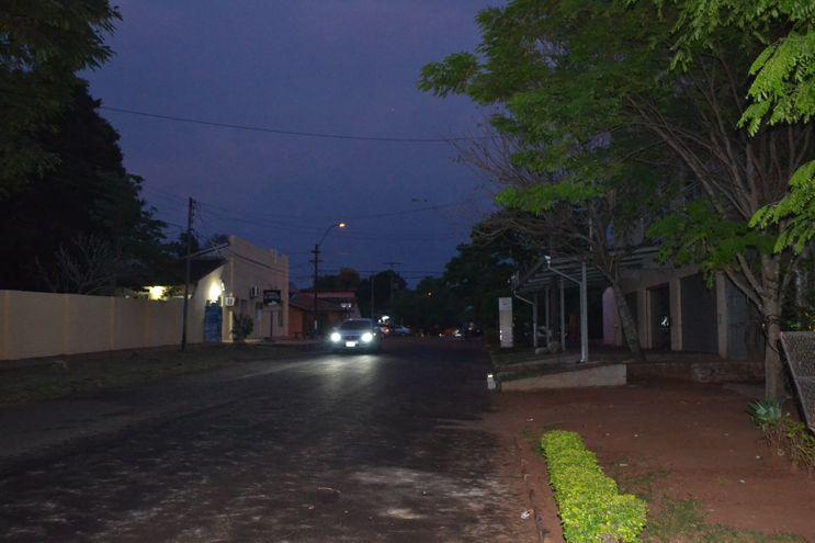 Escasa lluvia se produjo en San Juan Bautista de las Misiones. No hubo tormentas ni caída de granizos.