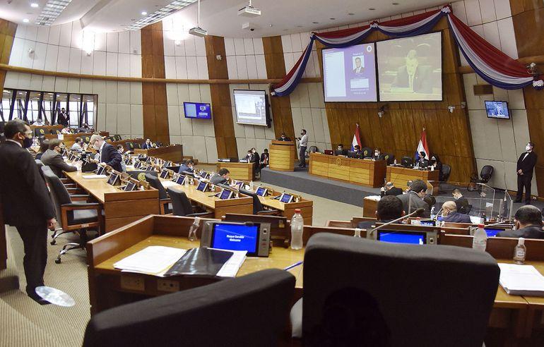 La sesión de ayer en Diputados se centró en suspender a Celeste Amarilla.