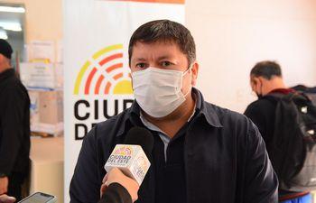 Daniel Pereira Mujica, director general de la Municipalidad de Ciudad del Este.