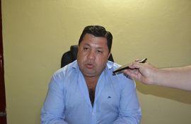 César Sánchez Machado (ANR), intendente de Guasucuá, fue denunciado por violencia por su expareja.