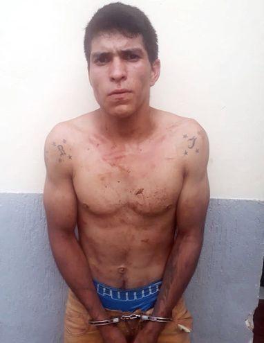 Diosnel Benjamín Gómez González, preso.