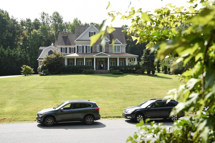 La residencia de Oleg Smolenkov en Stafford, Virginia (EE.UU.).