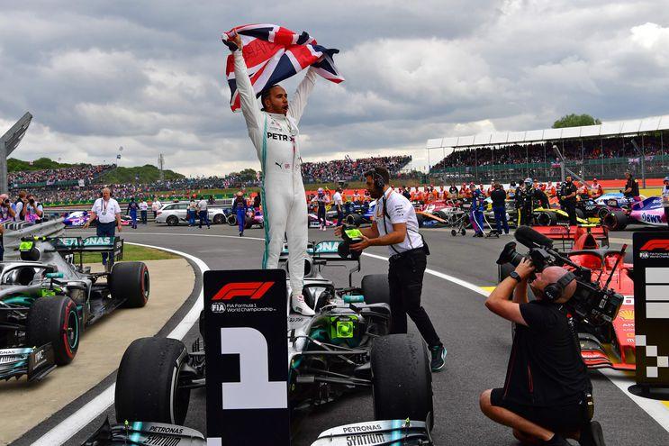 Lewis Hamilton conquistó el Gran Premio de Gran Bretaña de Fórmula Uno.