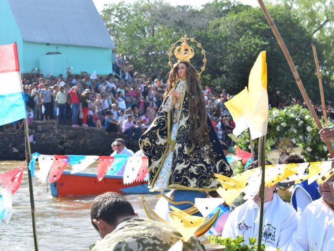 La fiesta en Itapé congrega a una multitud cada año.