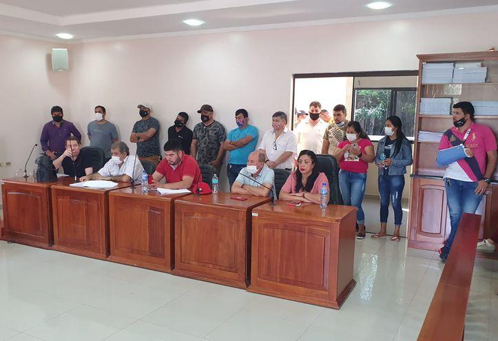 Candidatos a miembros de la Junta Municipal reclaman cese de endeudamiento de la comuna de Salto.