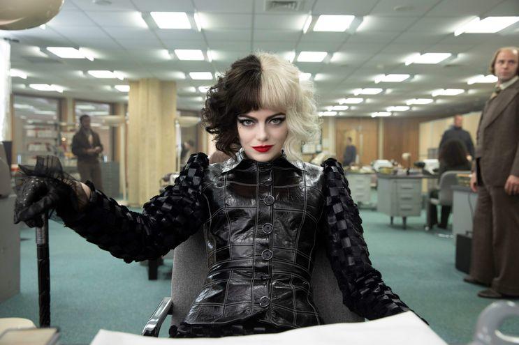 "Emma Stone en ""Cruella""."