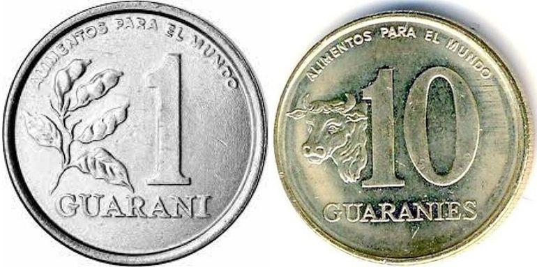 El 1 guaraní con la soja, el 10 con la vaca, en 1978.