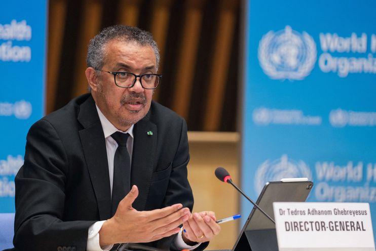 Tedros Adhanom Ghebreyesus, director general de la Organización Mundial de la Salud.