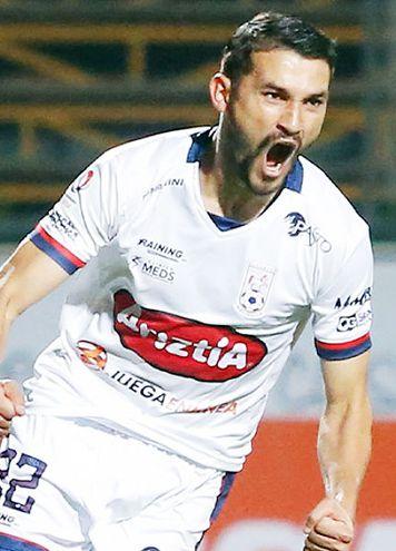 Gustavo Guerreño, 29 años, goleador del Melipilla.