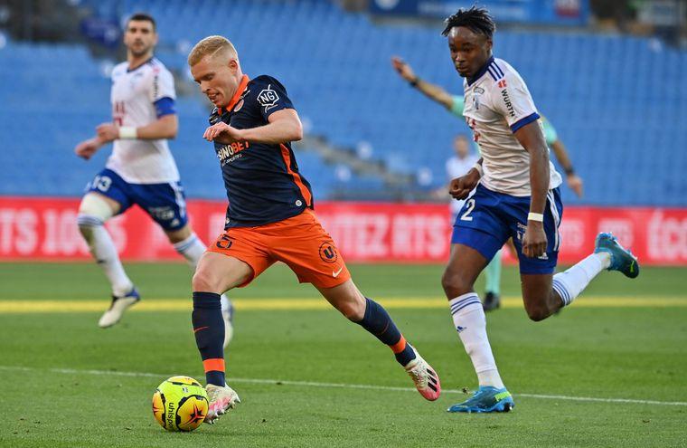 Montpellier está segundo en la liga de Francia