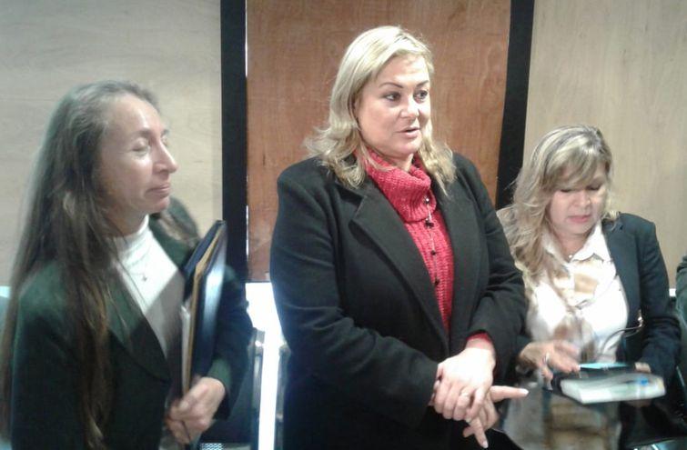 María Esther Roa, una de las líderes del grupo de  ciudadanos autoconvocados, se presentará esta mañana en Diputados.