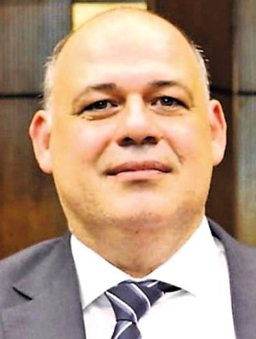 Abel González (PLRA), presidente de la comisión de Cuentas y Control, que pidió postergar el estudio del cambio de horario.