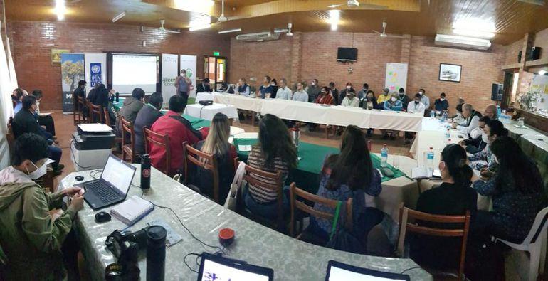 """La """"Plataforma regional de la carne"""" reunió a varios integrantes regionales de los sectores nativos y sector productivo."""