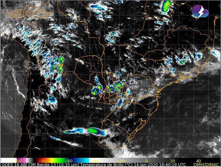 Alertan por tiempo severo para región Oriental y el Bajo Chaco.