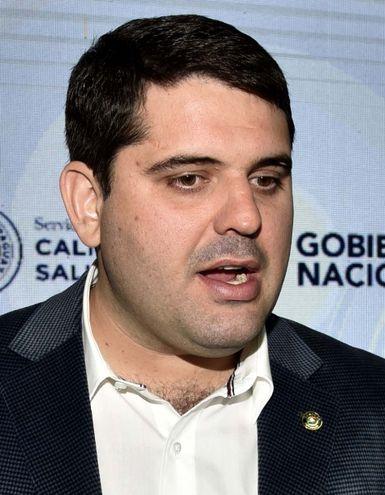 José Carlos Martin Camperchioli, presidente del Servicio Nacional de Calidad y Salud Animal (Senacsa).