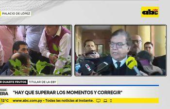 Nicanor Duarte habla sobre la situación política