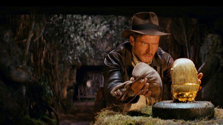 """Harrison Ford en """"Cazadores del Arca Perdida""""."""