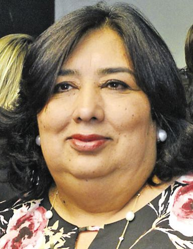 Teresa Martínez, ministra de la Niñez y Adolescencia. Será interpelada hoy, desde las 14:30 por los diputados.