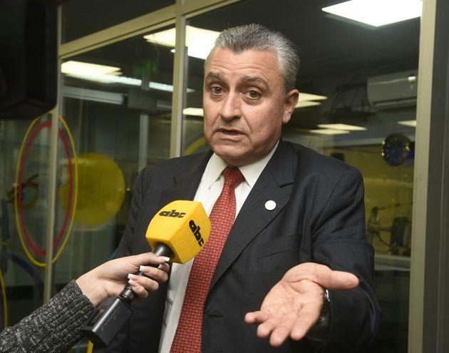 Juan Ernesto Villamayor, ministro del Interior.