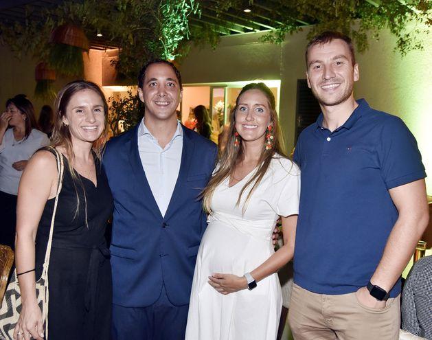 Denise Kelly, Pablo Zuccolillo, Leyla Sotomayor y Tomy Miladinovic.