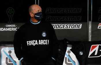 El apoyo de Luiz Felipe Scolari para Francisco Arce.