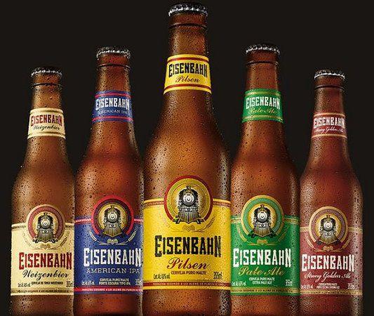 Eisenbahn es la verdadera cerveza artesanal que sigue la ley de la pureza alemana.