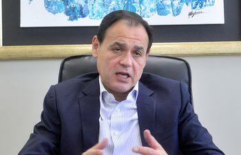 Rubén Ramírez Lezcano, excanciller nacional durante el gobierno de Nicanor Duarte Frutos.