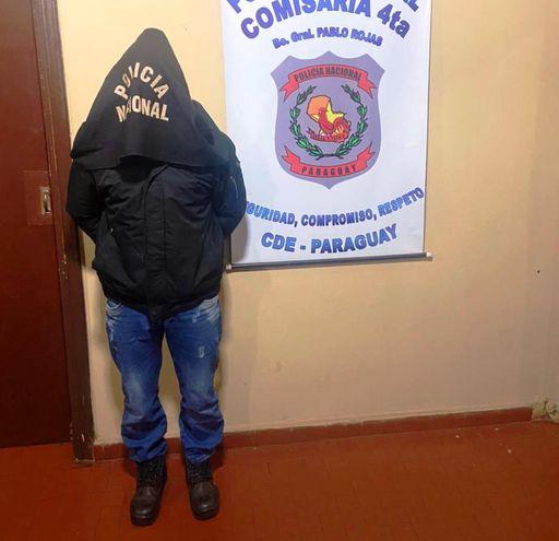 Carlos Esteban Rotela, quedó detenido por violencia familar en la comisaría 4ª del barrio Pablo Rojas.
