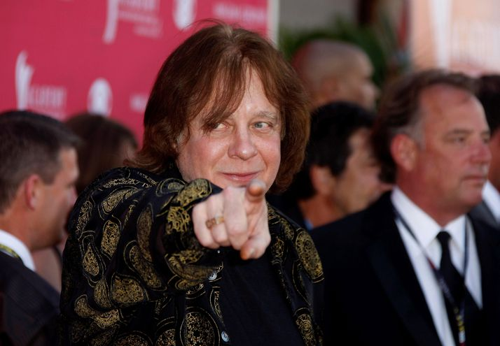 Eddie Money durante la entrega de los Academy of Country Music Awards, en 2008.