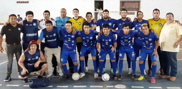 La selección de Itauguá es un buen animador dentro del Grupo 3 de las Eliminatorias del 50° Nacional de Fútbol de Salón.