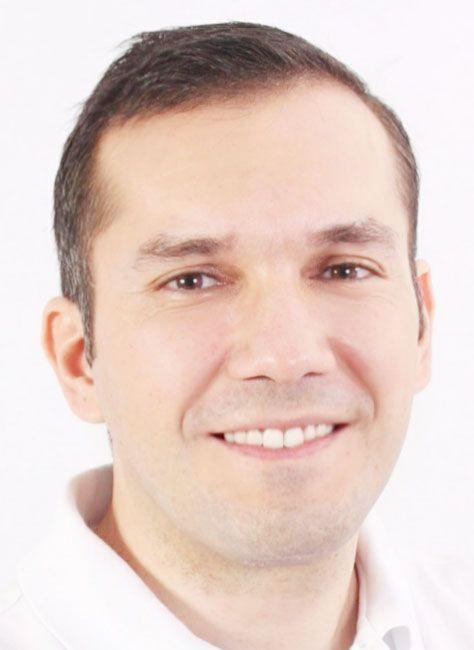 Antonio Danei, licenciado en nutrición.