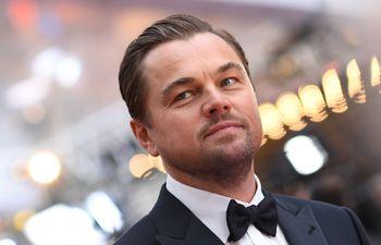 Leonardo DiCaprio antes de la ceremonia de los premios Óscar, el domingo en Los Ángeles.