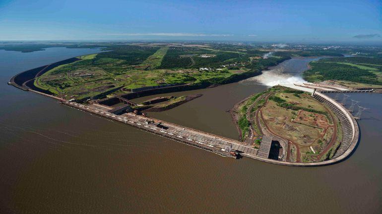Hidroeléctrica Itaipú.