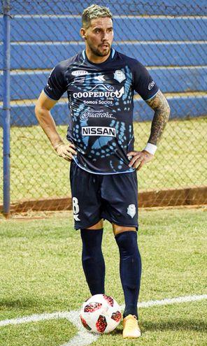 Jorge Darío Mendoza Torales (31 años), uno de los experimentados del once de Guaireña.