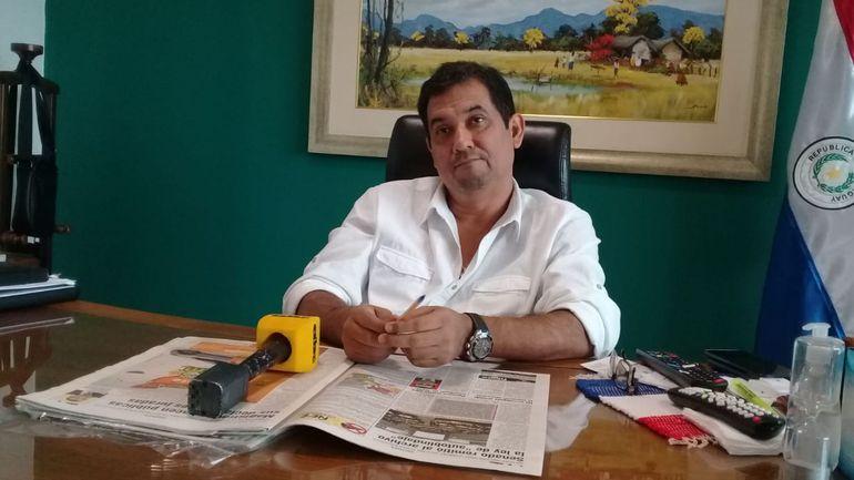 Martín Arévalo, hoy, en su despacho.